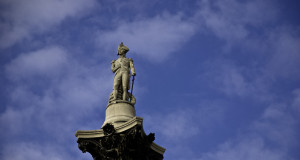 Photo of Nelson's Column, London, UK.